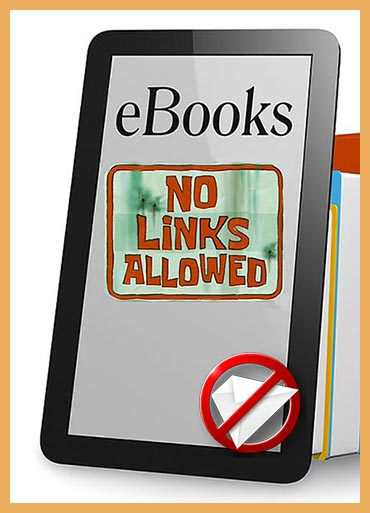 No Amazon Links in email or e-Books