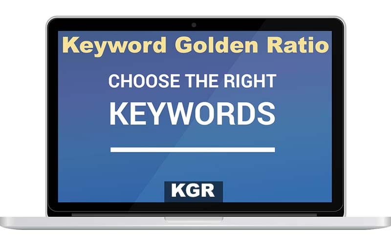 Using Keyword Golden Ratio to Rank Higher on Google