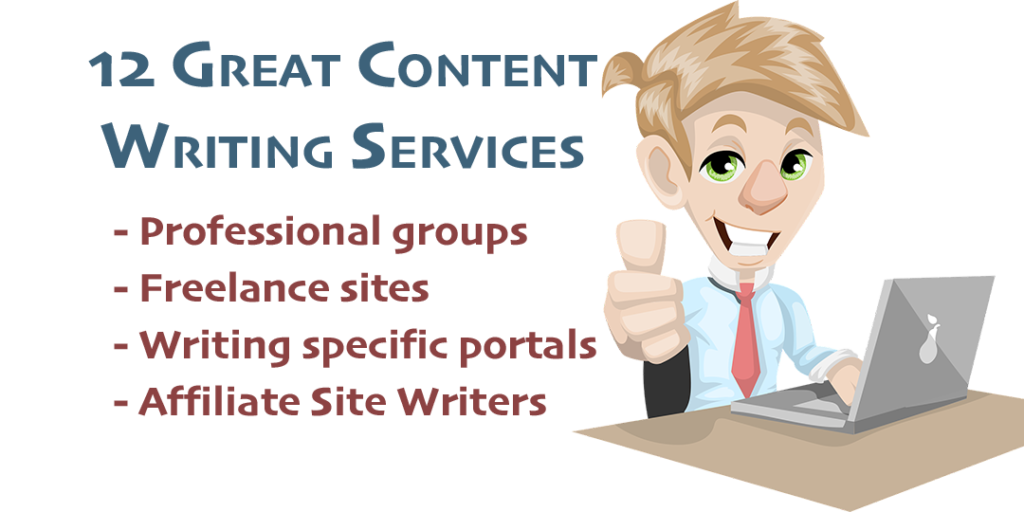 12 outsourced writing resources
