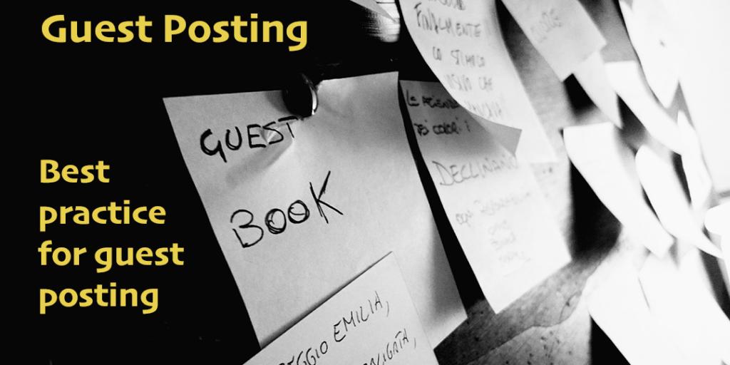guest posting best practice