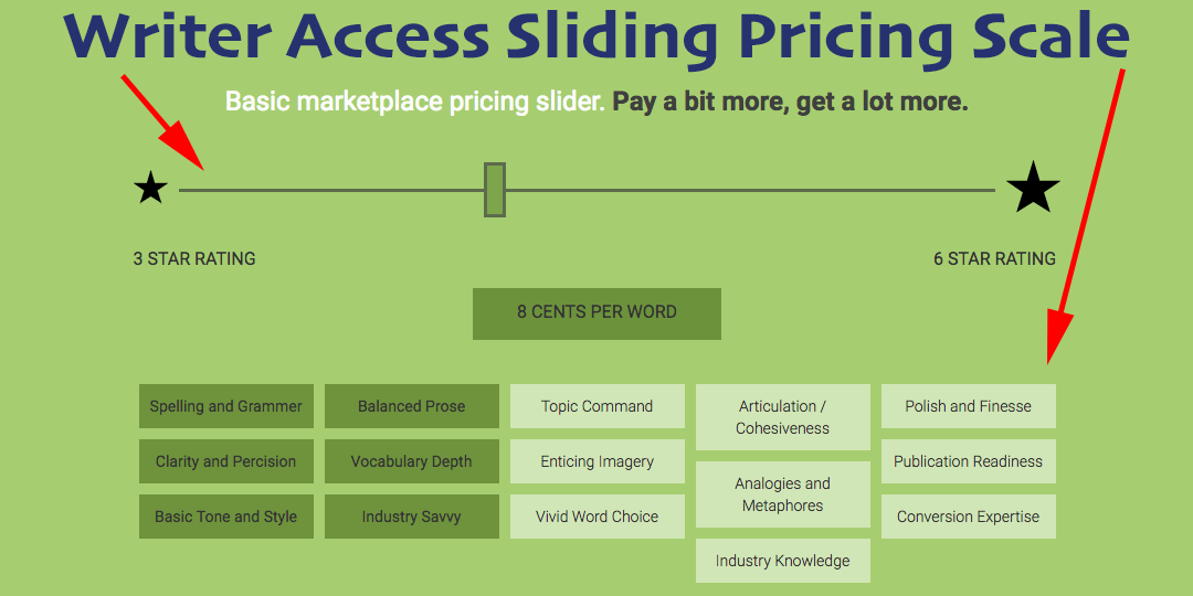 writer access pricing