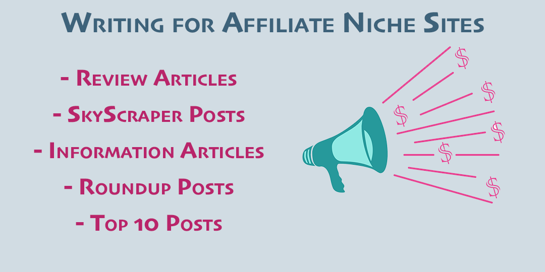 writing for affiliates and bloggers