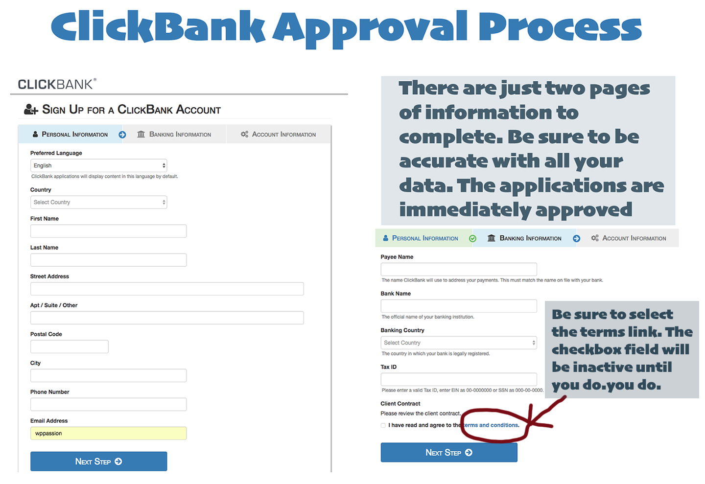clickbank approval