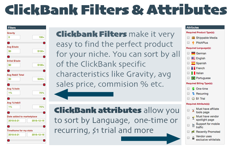filters and attributes