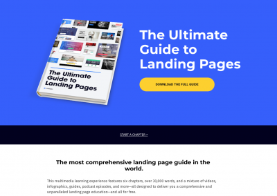 Ultimate leadgen page