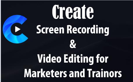 Create by Vidello: Screen Recording and Video Editing – Fits Like a Glove
