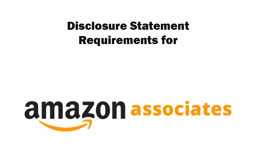 Amazon Affiliate Disclosure Example