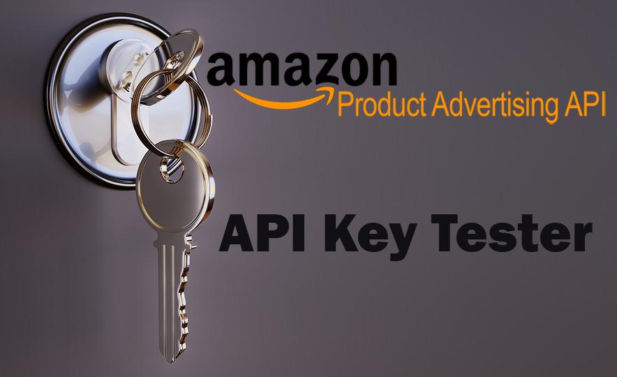 Amazon Product Advertising API Key Tester