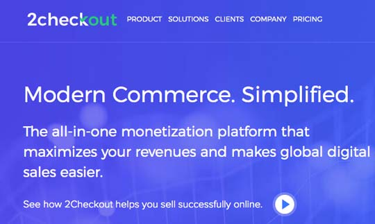 2Checkout free affiliate program
