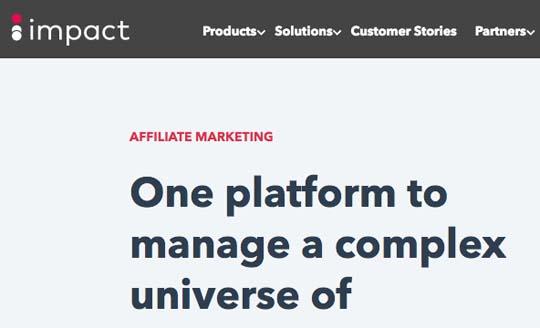 impact free affiliate network