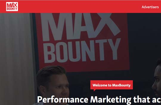 maxbounty affiliate program