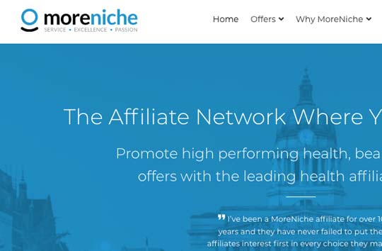 moreniche affiliate program