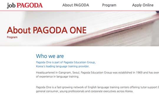 pagoda tefl jobs