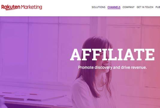 rakuten free affiliate network