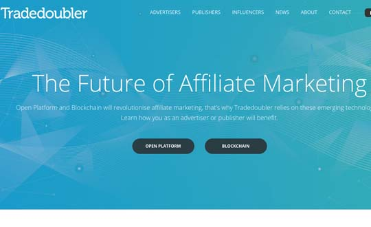 trade doubler affiliate network