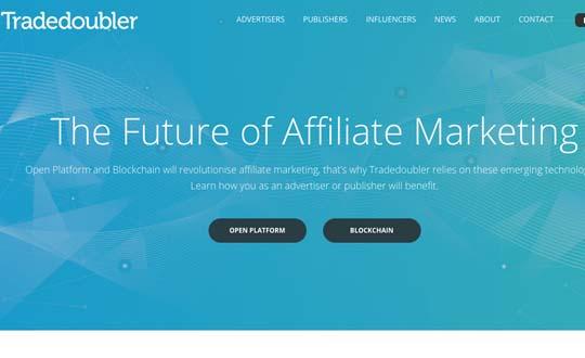 trade doubler affiliate program
