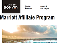 marriott affiliate program