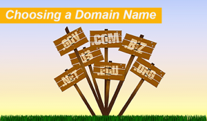 choosing an affiliate domain name