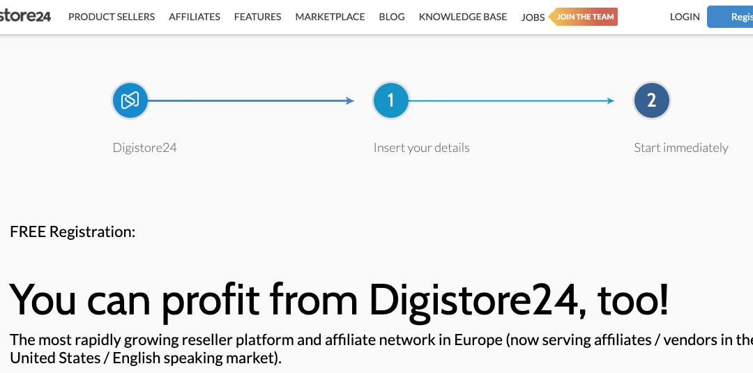 digistore24 affiliate netowrk