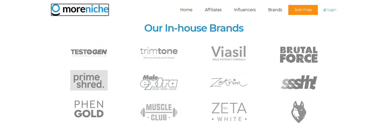 MoreNiche Brands