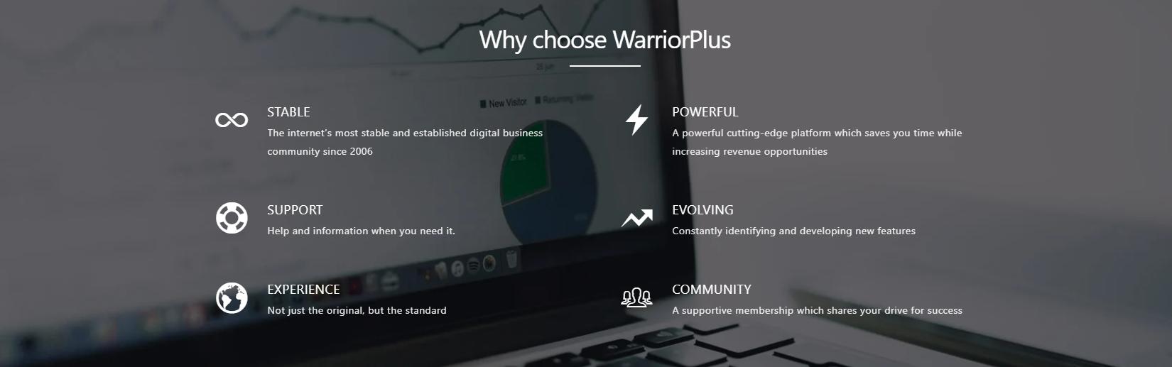 warrior plus benefits