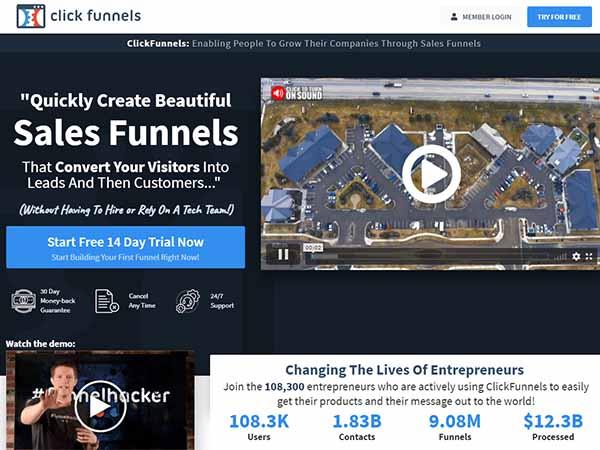 Click Funnels Affiliate Program