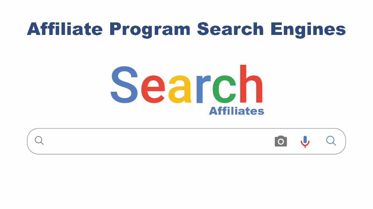 affiliate program search engines