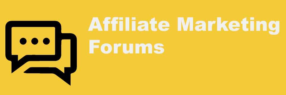 forum affiliate marketing