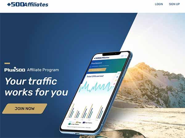 plus 500 affiliate program
